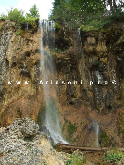 Cascada de la Vidra - Pisoaia